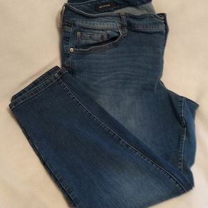 Torrid tapered boyfriend jeans